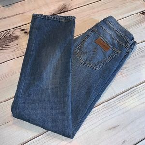 Wrangler Retro Slim Straight Medium Wash Jeans 29